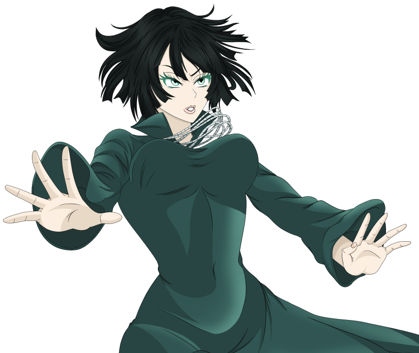 Fubuki Half Body Colour by AlphaDeltaZeta