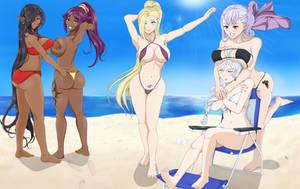 CM: Beach Waifus
