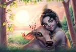 Gopala (Krishna) with the calf