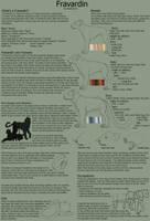 Fravardin Species Sheet (Open Species) by Rookie141