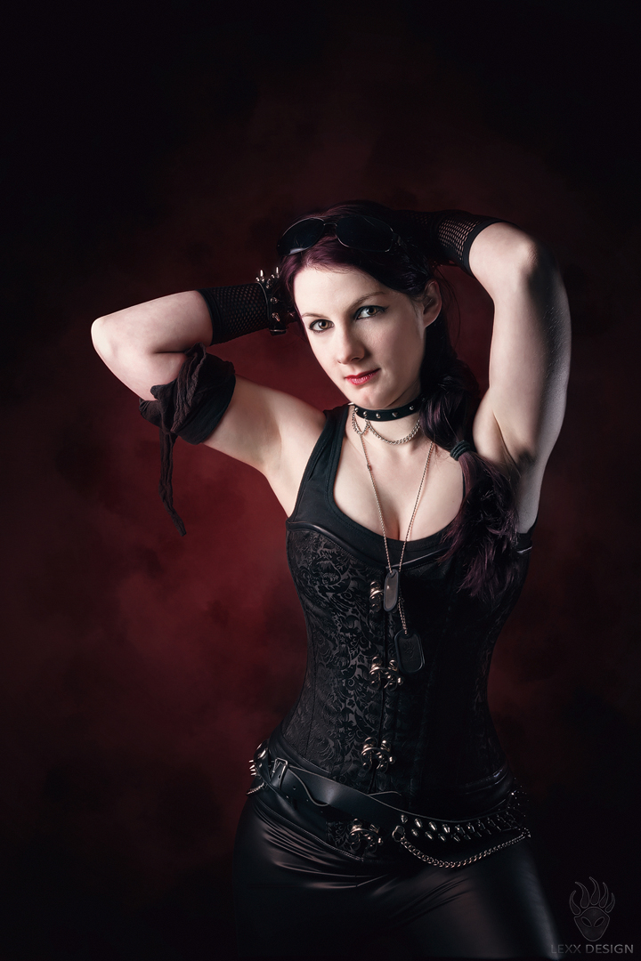 Black Red Poser by LEXX-Design