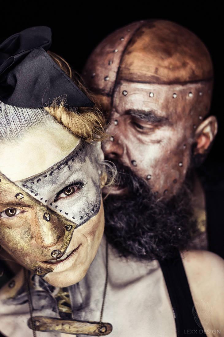 Steampunk Couple by LEXX-Design