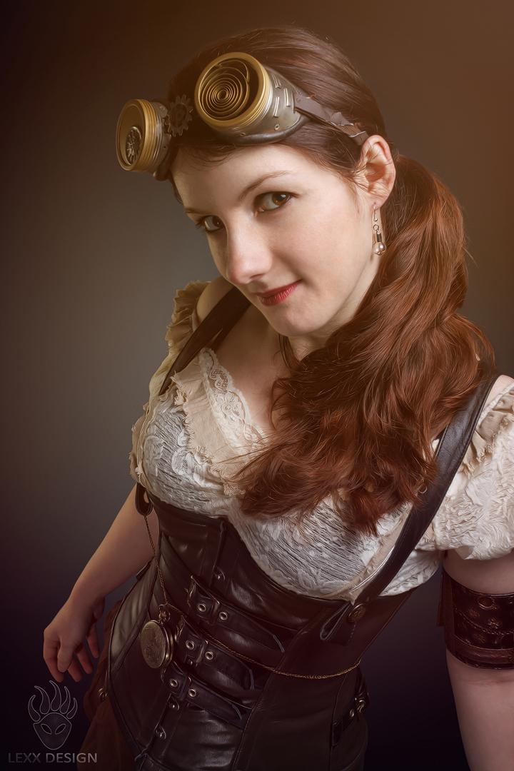 Steampunk Girl by LEXX-Design