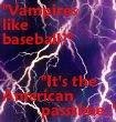 Vampires and Baseball by xFaithlessAngelx