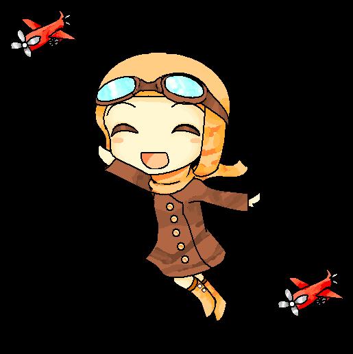 Amelia Earhart Cartoon Related Keywords & Suggestions ...