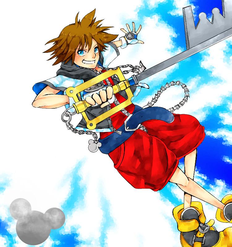 KH1: Sora by IDK-kun