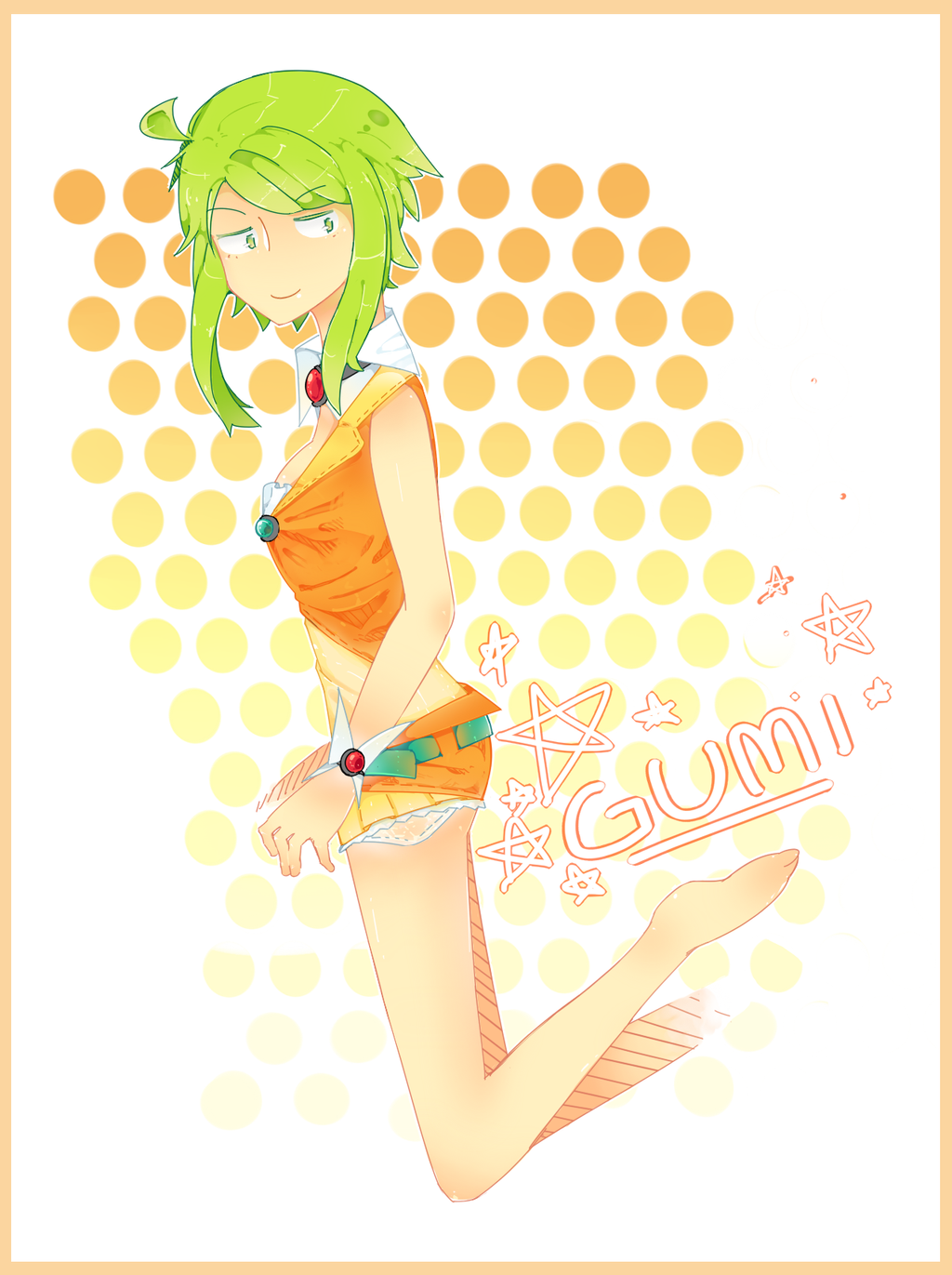 Gumi Shorts by IDK-kun