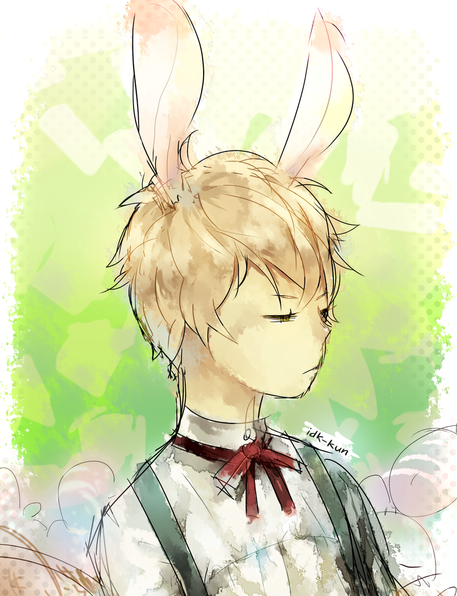 Happy Easter (Noiz) by IDK-kun