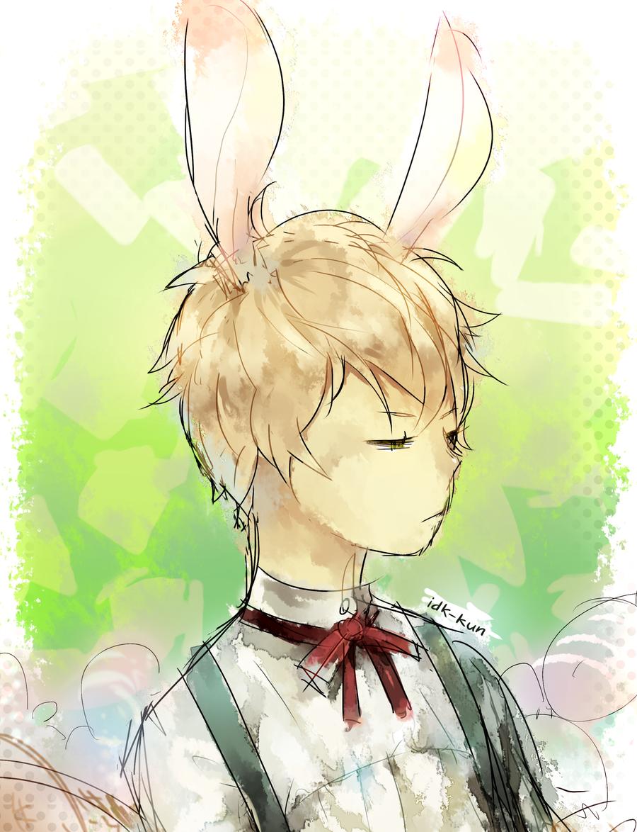 Happy Easter (Noiz) by IDK-kun