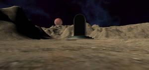 Portal on a planet