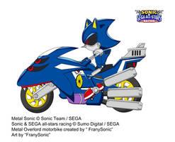 Metal Sonic in Sonic-SEGA ASR by Franysonic