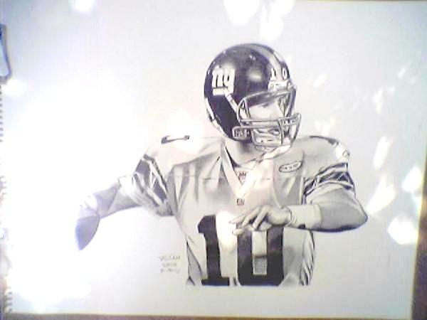Eli Manning by troydodd