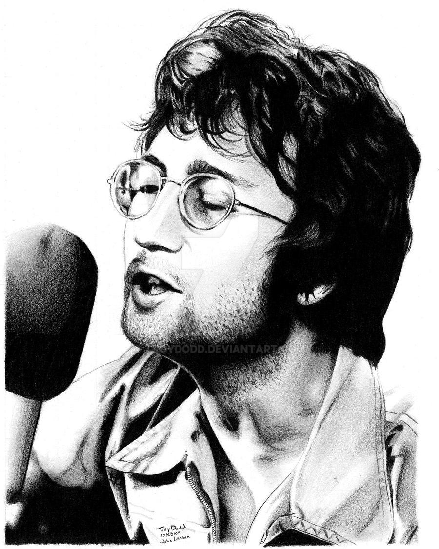 John Lennon by troydodd