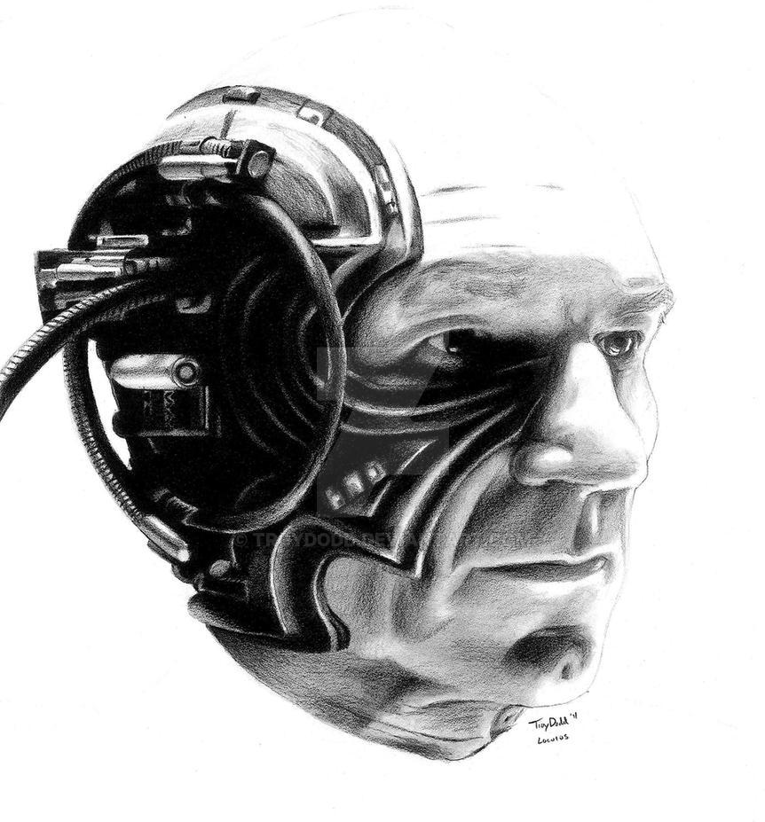 Locutus of Borg by troydodd