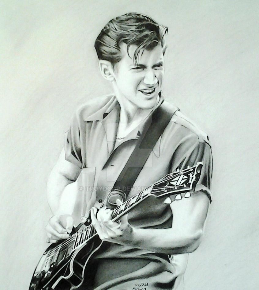 Arctic Monkeys' Alex Turner by troydodd