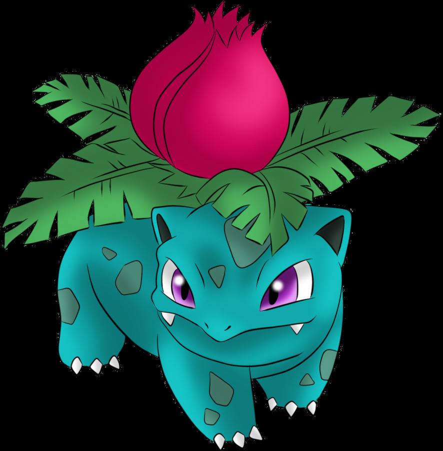 002 Ivysaur By Icedragon300 On Deviantart