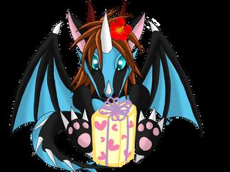 Happy Birthday Blackdragon07 by Icedragon300