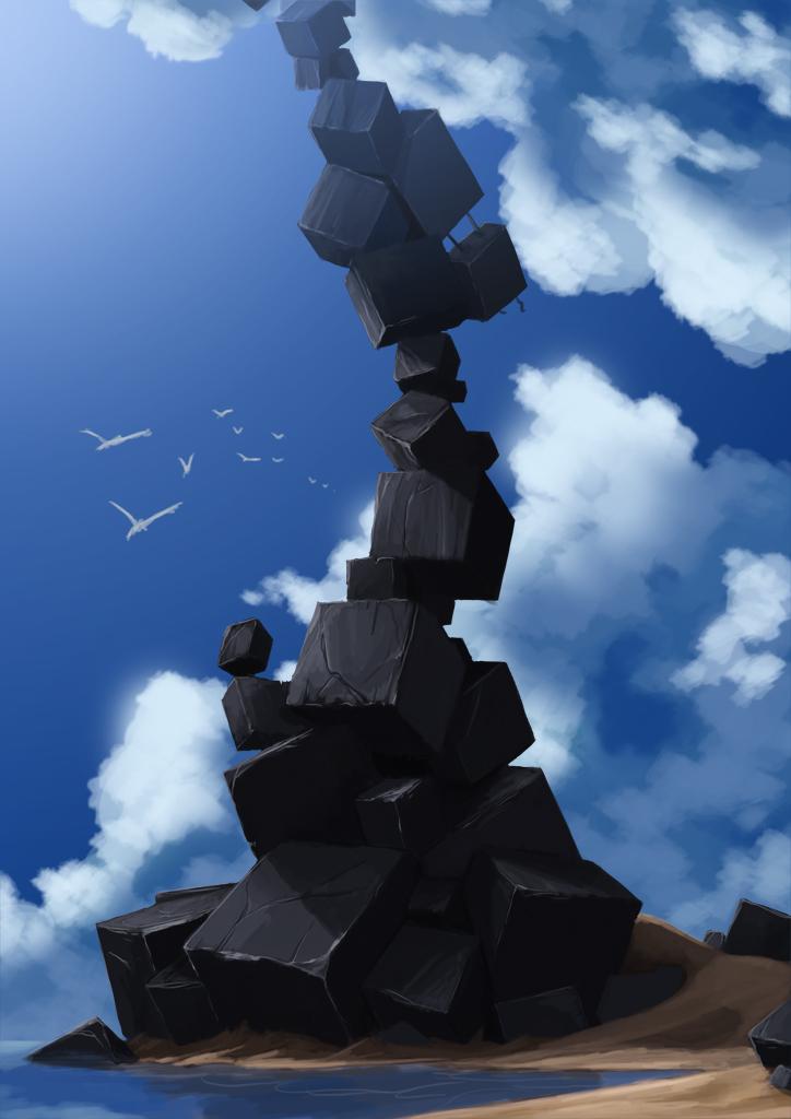 Cube Spire by MDiemeer