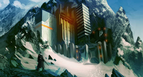 Mountain Base by MDiemeer