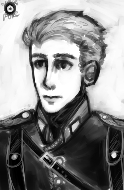 Siegfried Portrait by NecroPuke