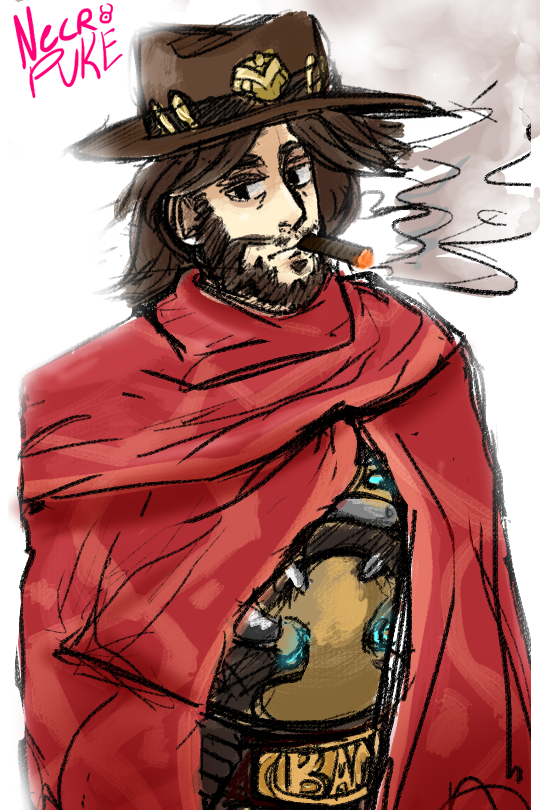 McCree by NecroPuke