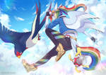 Trainer Rainbow Dash