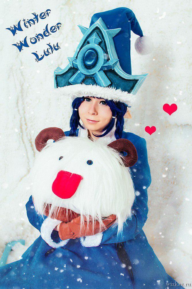League of Legends - Winter Lulu by Morumotto1