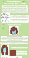 Tutorial - How To Draw Hair 2