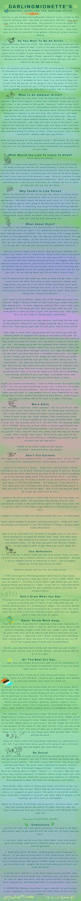 Art Survival Guide - Beginner