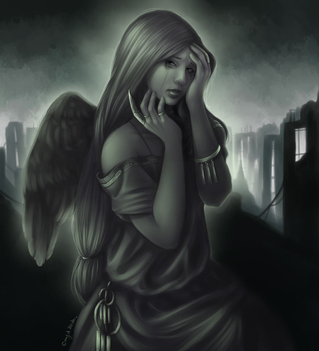 angel of sorrow - photo #7