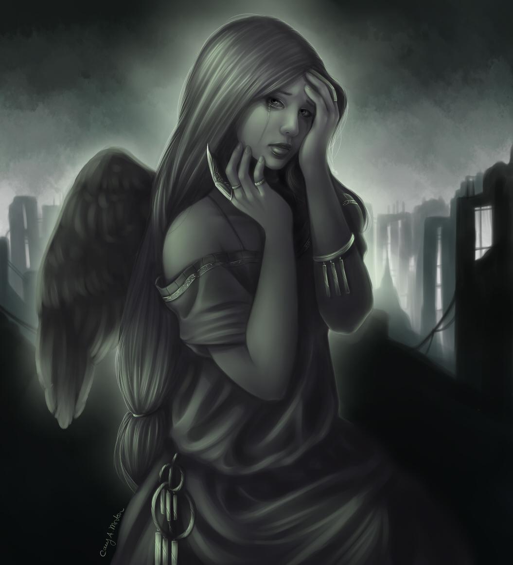 angel of sorrow - photo #7