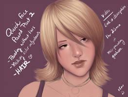 Quick Face Paint Pt2 - Video by DarlingMionette