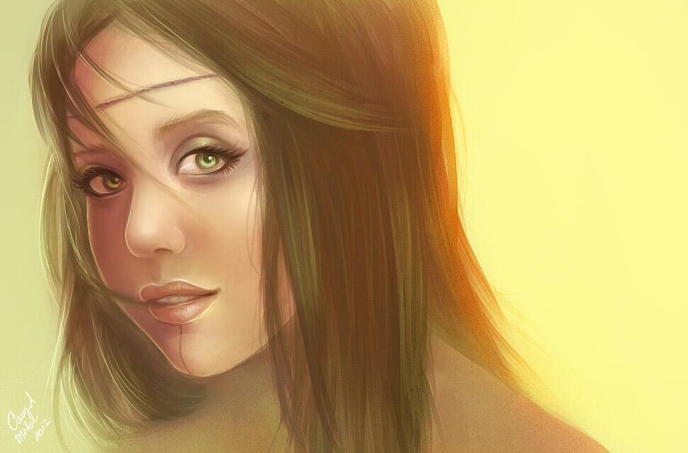 Khet Portrait by DarlingMionette