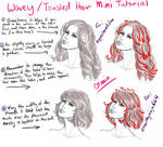 Wavey and Tousled Hair - Mini Tutorial