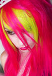 Neon Yellow and Pink