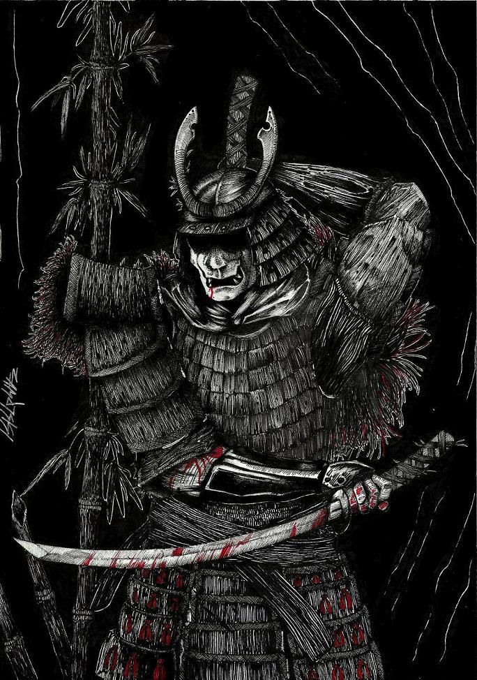 samurai by NoMakeZombiePL