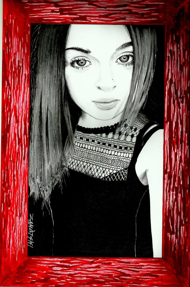 portrait by NoMakeZombiePL