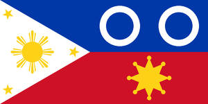 Flag of the Federal Republic of the Philippines