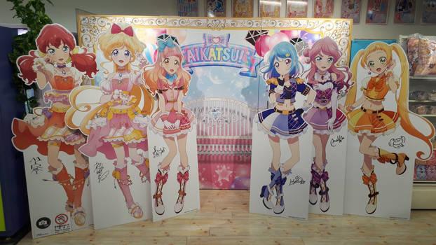Aikatsu Friends! Mall Stands by revinchristianhatol