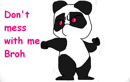 Me as a Panda by pandiiis