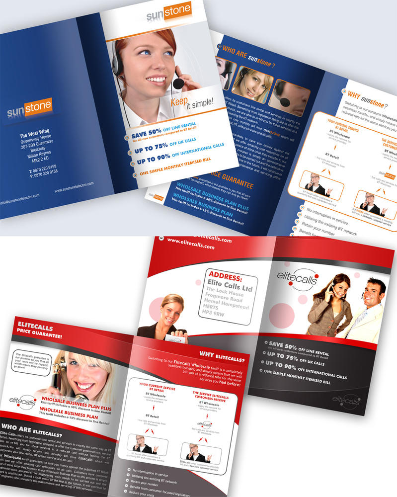 Brochures by kijan77