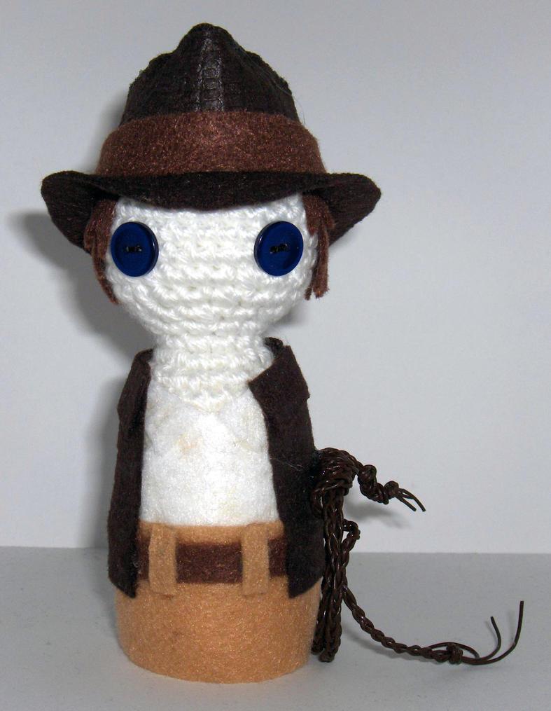 Amigurumi Geisha Tutorial : Amigurumi Indiana Jones by Geisha-Neko on deviantART