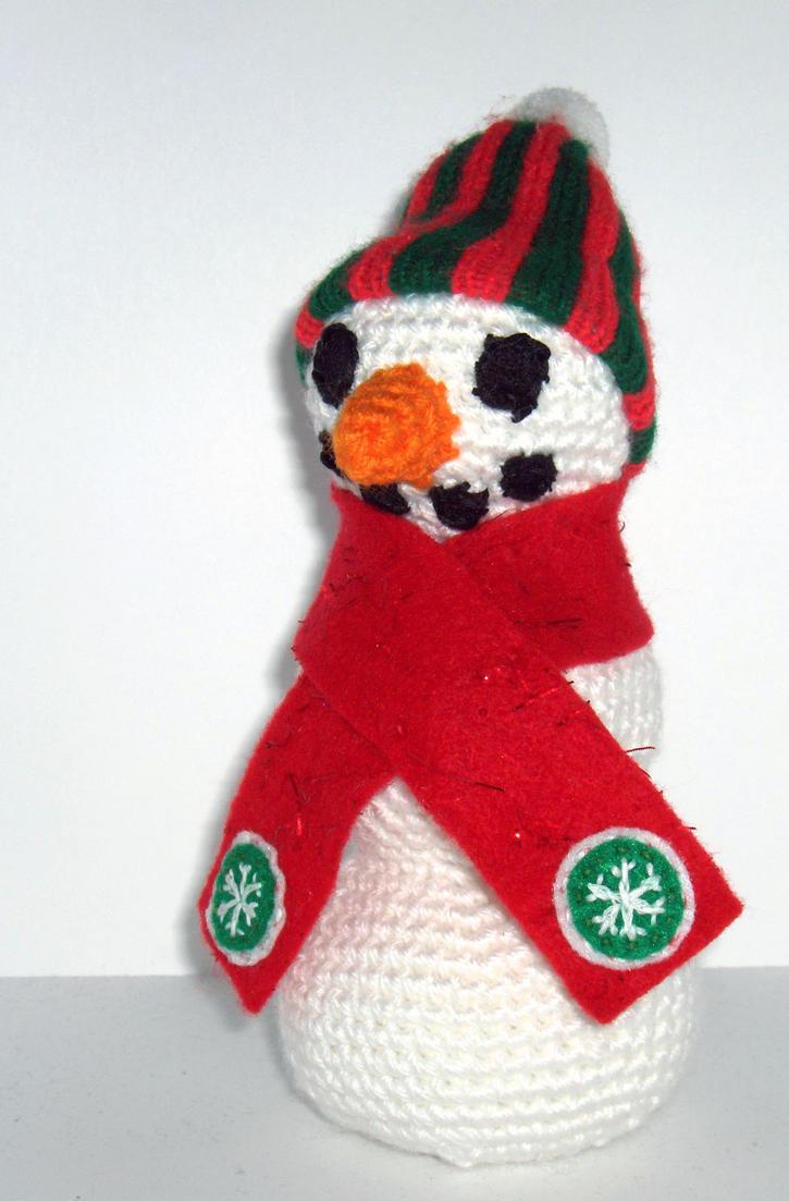Amigurumi Snowman by Geisha-Neko on deviantART