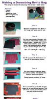Drawstring Bento Bag
