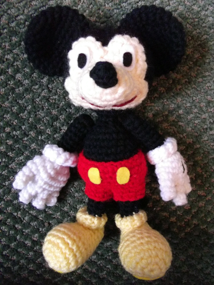 Mickey Mouse Amigurumi By Geisha Neko On Deviantart