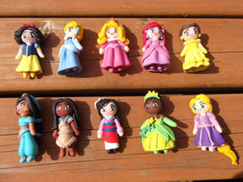 Disney's 10 Princesses by Geisha-Neko