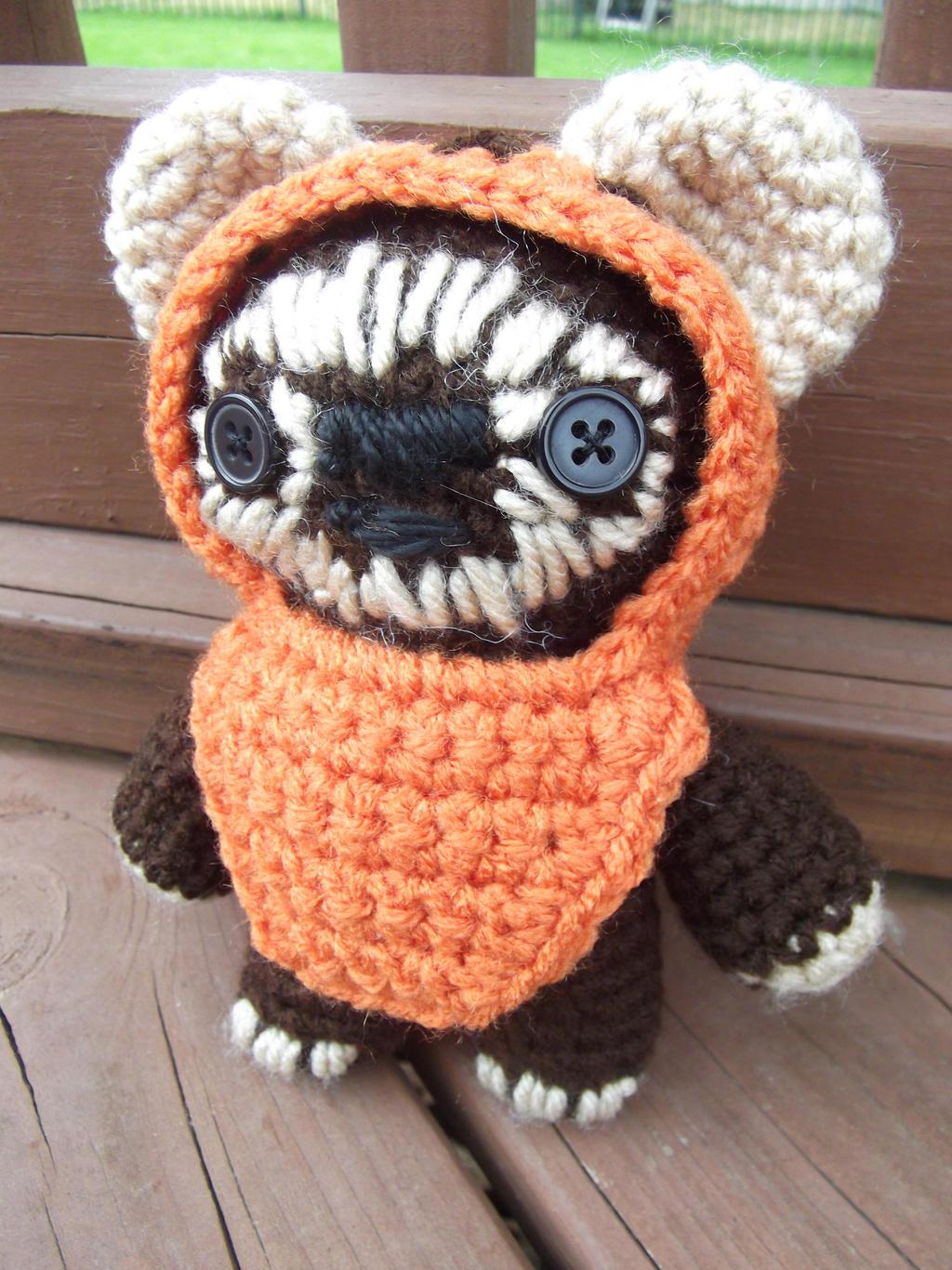 Ewok Crochet Amigurumi : Ewok Amigurumi by Geisha-Neko on deviantART