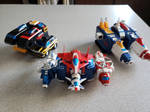 Voltron Vehicle Teams Ready for Launch! (Combined)