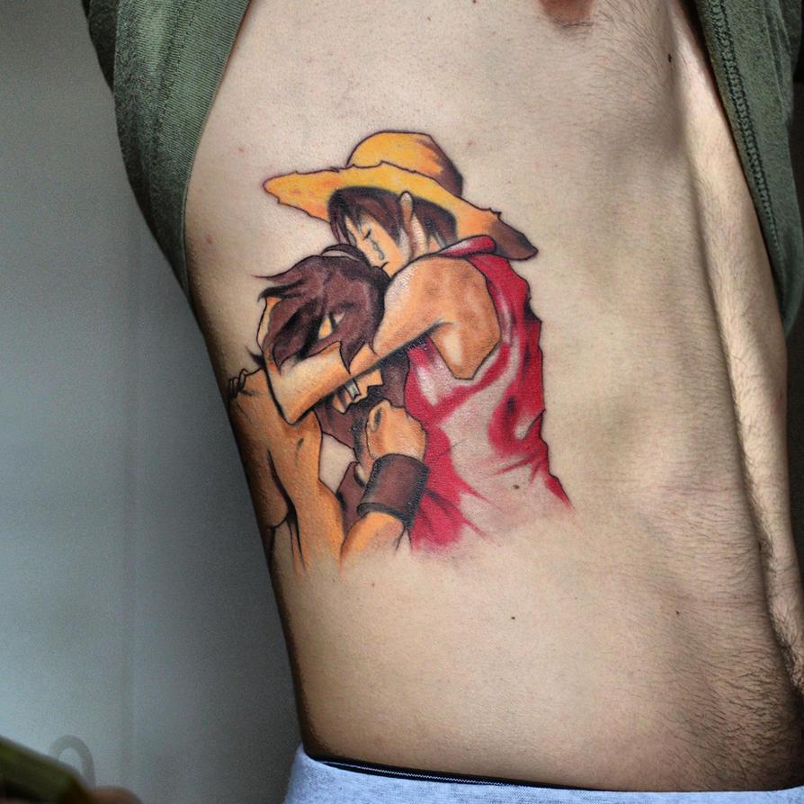 One Piece Hand Tattoo: One Piece Tattoo By Sjorgji On DeviantArt
