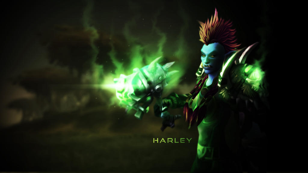 Troll Druid, Harley - Wallpaper by HarleyFF